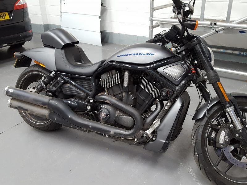Harley Davidson – Fuel Tank & Mud Guards