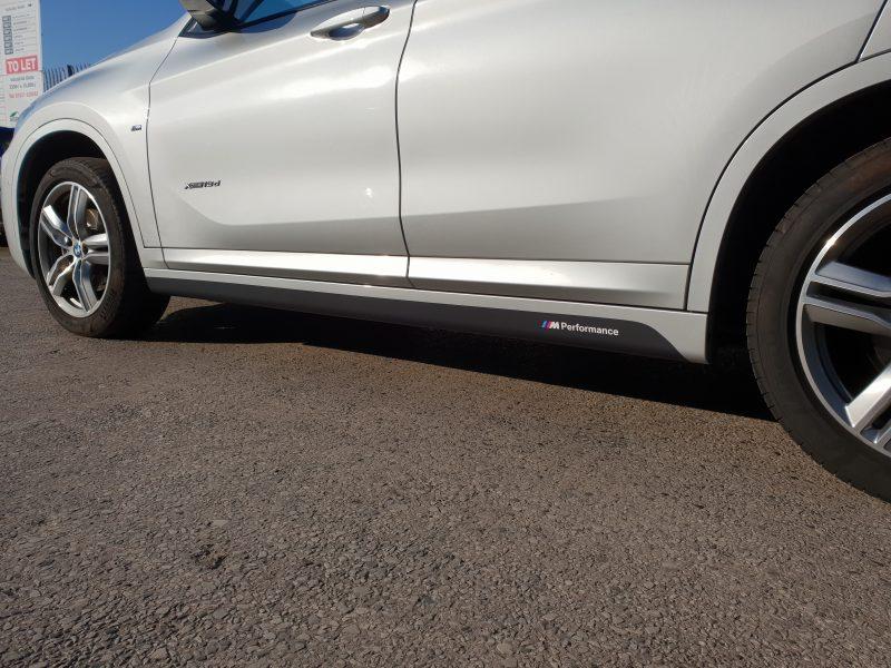 BMW MPerformance Sill Decals